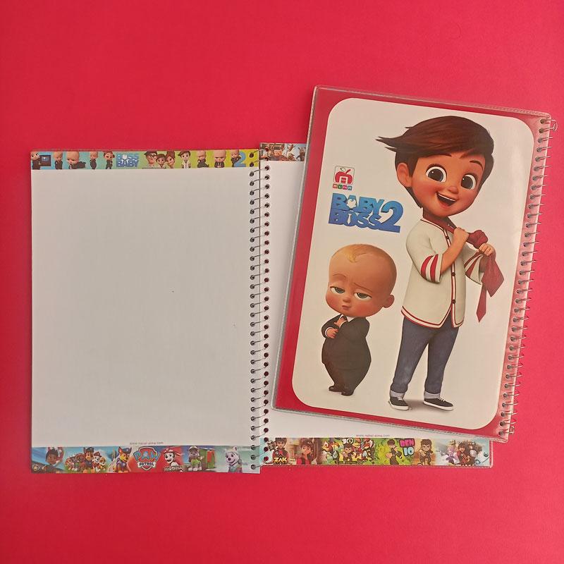 دفتر نقاشی سیمی طلقی جایزه مرد عنکبوتی